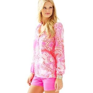 Lilly Pulitzer Tops - Lilly Pulitzer | Trunk In Love Elsa Top